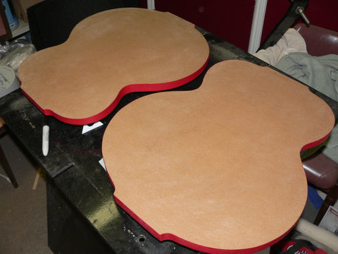 Guitar Shaped Radius Work-board
