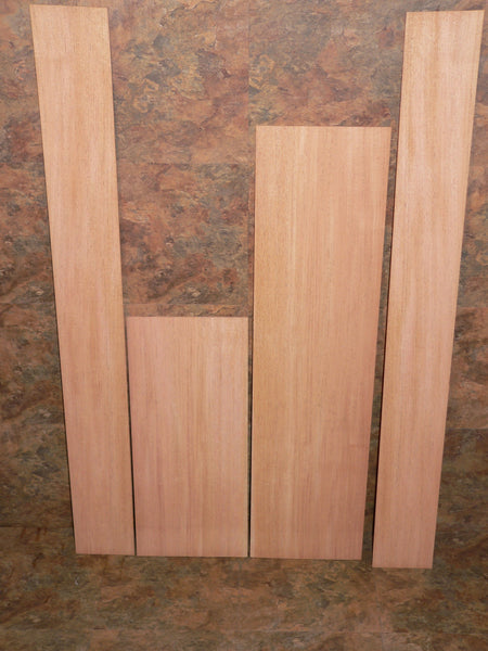 Harp back/side set - plain mahogany #1