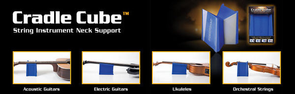 MusicNomad - Cradle Cube Neck Support