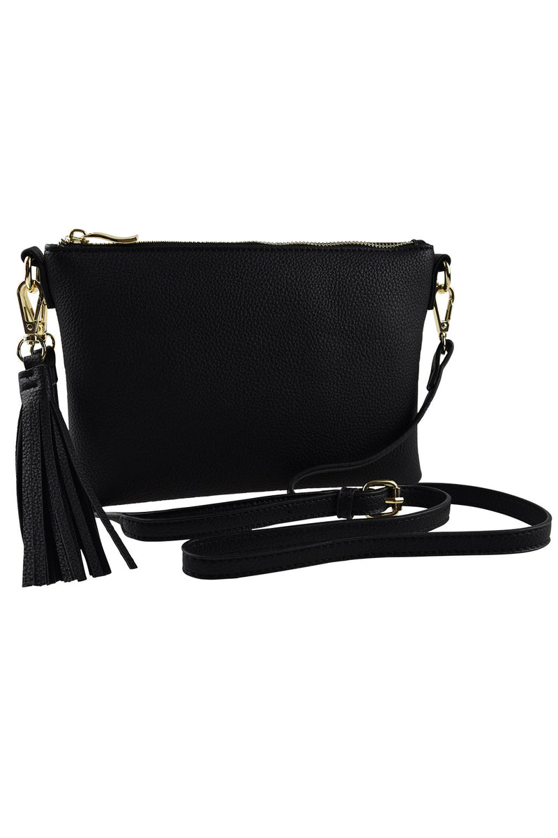 Peta+Jain Kourtney Ziptop Bag Black