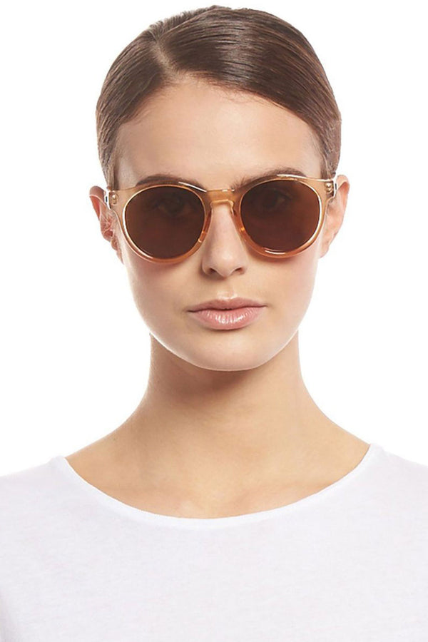 Le Specs Hey Macarena Sunglasses Blonde