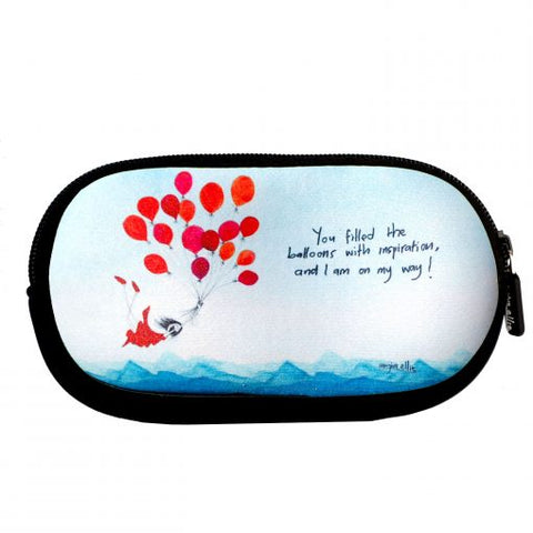SunGlasses Case - Ballons With Inspiration