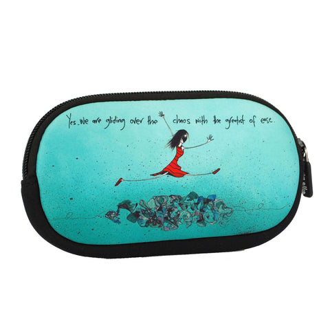 SunGlasses Case - Gliding Over The Chaos