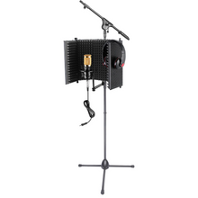 Load image into Gallery viewer, Neewer Adjustable Studio Recording Microphone Isolation Shield NW-1