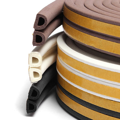 5m Self Adhesive Door and Window Foam Acoustic Seal Strip
