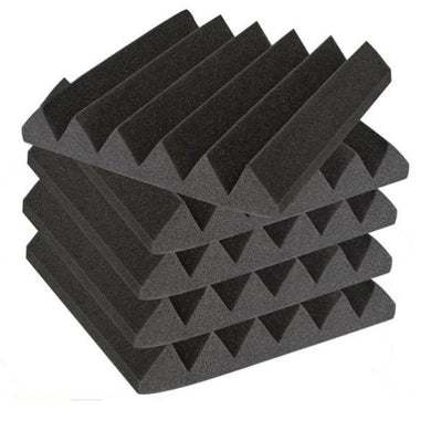 6 Piece 300mm x 300mm x 50mm Acoustic Wall Tile Pack