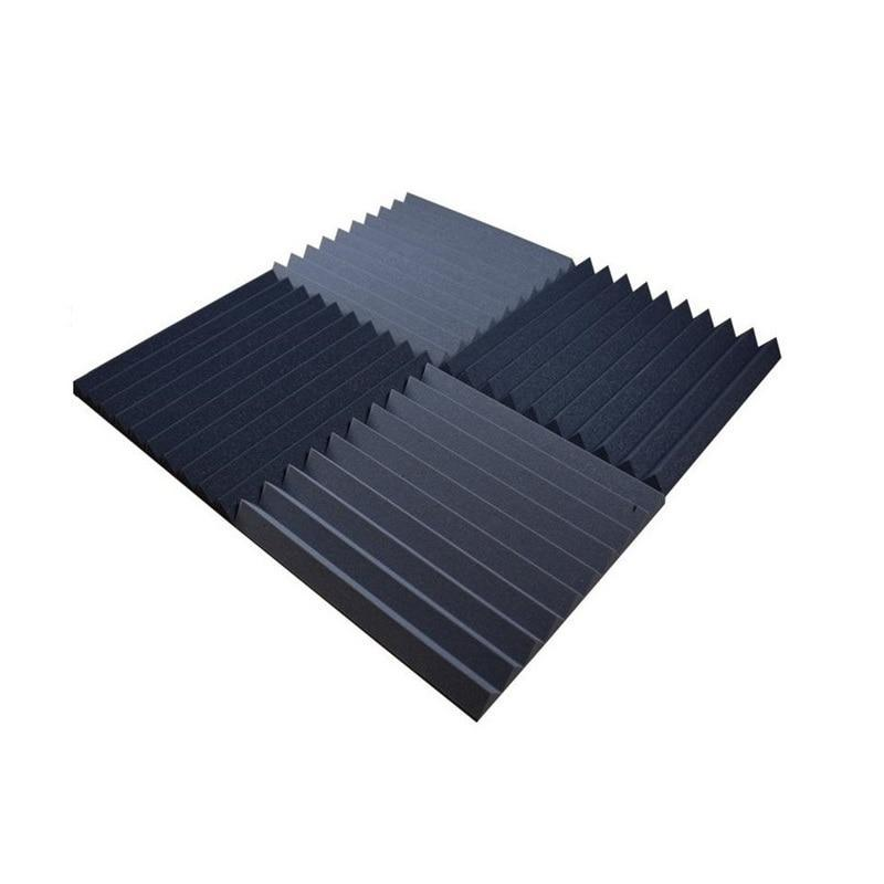18 Piece  500mm x 500mm x 50mm Acoustic Foam Panel Set