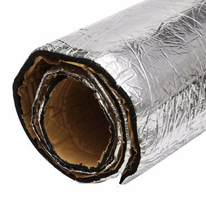 20mm Thick 500mm x 1000mm Self Adhesive Sound and Heat Insulation
