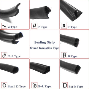 Car Door Seal Strips