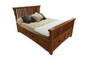 Sierra Mission Storage Bed