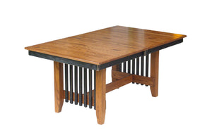 Mission Trestle Table Set
