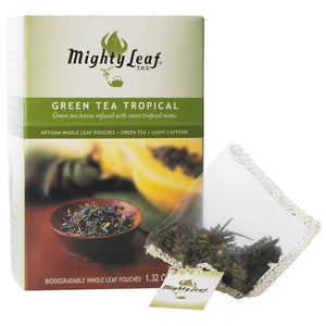 Tea - Mighty Leaf Green Tea Tropical Tea