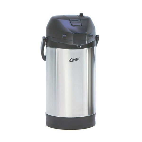 Curtis 3.0L Stainless Steel Exterior/Liner Airpot with Lever Handle