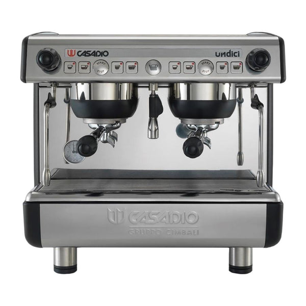 Casadio UNDICI Compact Traditional Espresso Coffee Machine - Two Group