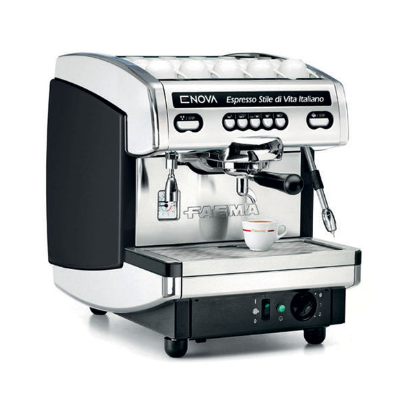 Faema Enova Espresso Coffee Machine - One Group