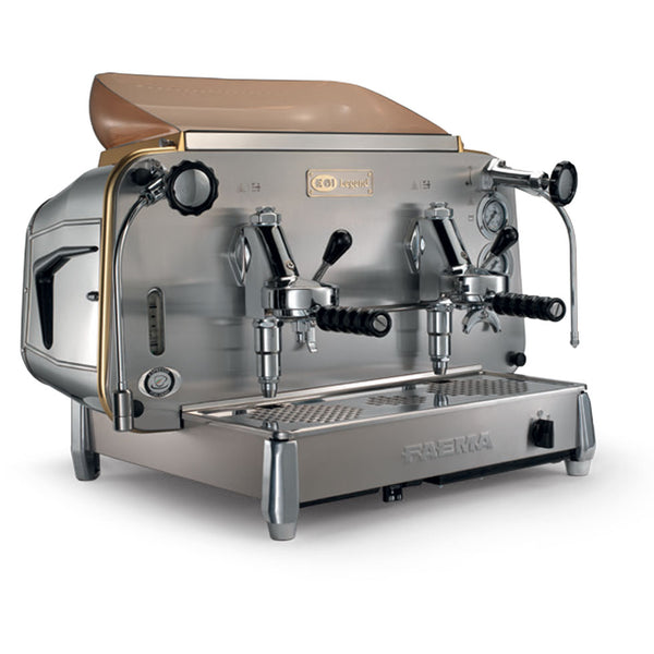 Faema E61 Traditional Espresso Coffee Machine - Two Group