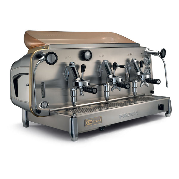 Faema E61 Traditional Espresso Coffee Machine - Three Group