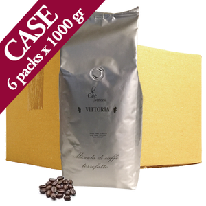 Cafè Venezia Vittoria Coffee Beans - Case of Six 1 kg Bags