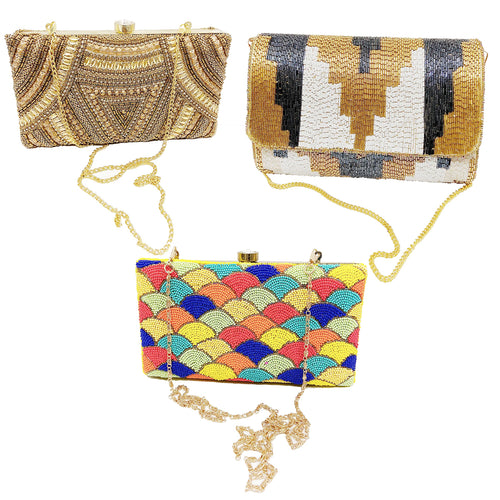 Handmade Indian Clutch Handbag Combo