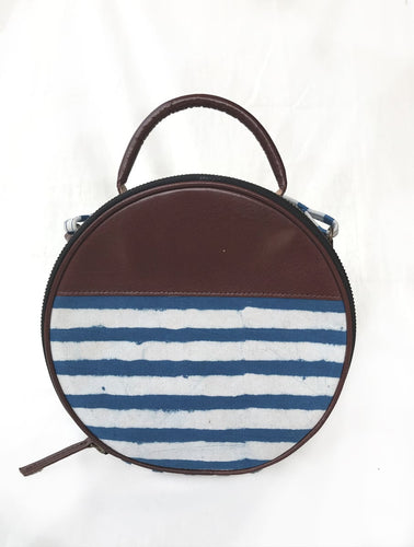 Nautical Small Circular Purse