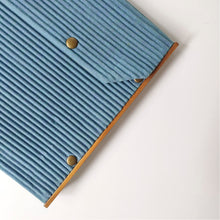 Load image into Gallery viewer, iPad/Tablet Sleeve 10.9 Inch - Set of 2 Sleeves -  Green & Khadi Blue