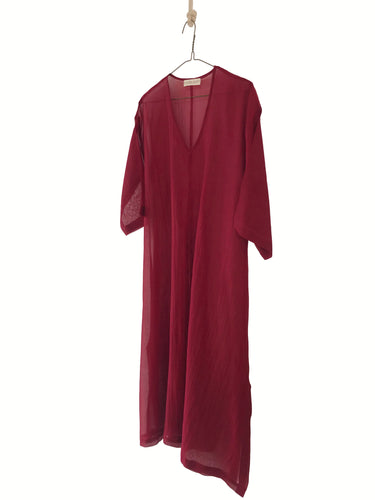 Sheer A-Line Long Kaftan women's kaftan dress