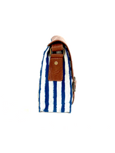 Load image into Gallery viewer, Nautical Double Buckle Messenger Sling Bag