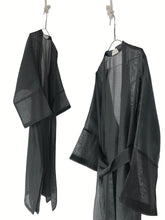 Load image into Gallery viewer, Sheer Duster/ Overshirt with a belt women/s overshirt/ Duster