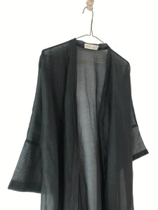 Sheer Duster/ Overshirt with a belt women/s overshirt/ Duster