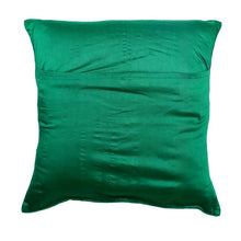 Load image into Gallery viewer, Camel Embroidered Green Cushion Cover