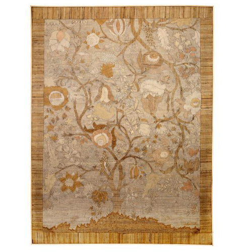 Tree of Life Silk Patchwork Wall Art