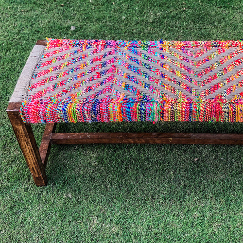 Begum Sultana Home Decor Multifunctional 2 Seater Bench