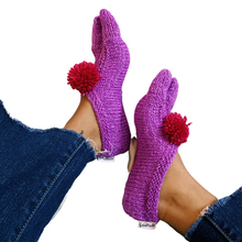 Load image into Gallery viewer, Hand-Knit Socks