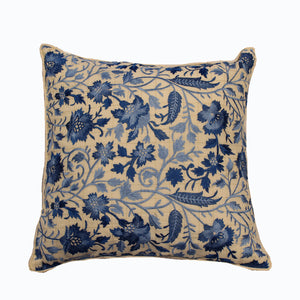 "Neela 18"" Embroidered Cushion Cover"