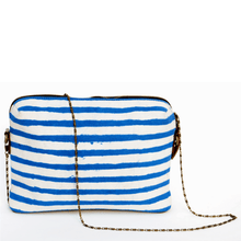 Load image into Gallery viewer, Soft Nautical Travel Sling Zipper Pouch