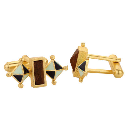 Giza Cufflinks - Blue