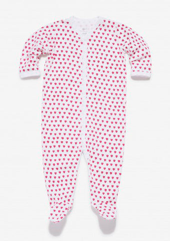 Infant Snapsuit Heart PJs