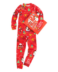 Boys 12 Days of Christmas Book and Pajamas Set