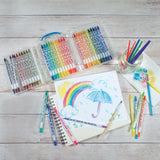 Rainbow Doodlers Watercolor Pencils - Set of 36
