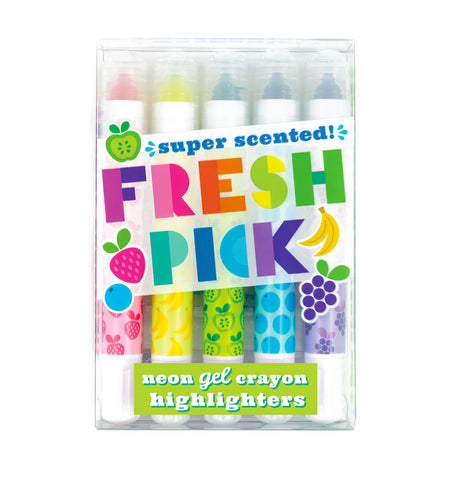 Fresh Pick Neon Scented Gel Highlighters