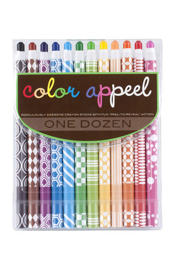 Color Appeel - Peel As You Go Crayons
