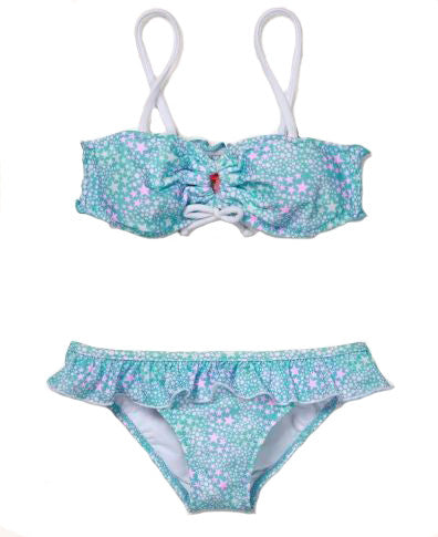 Starburst Bikini and Ruffle Brief Set