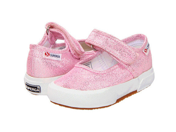 Pink Metallic Mary Jane Sneaker