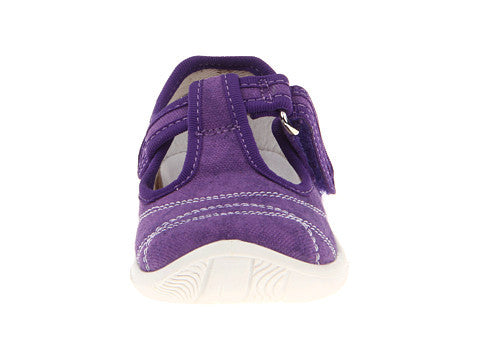 T-Strap Sneaker in Purple