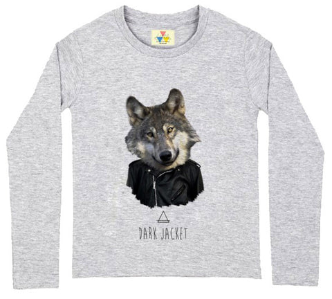 Dark Wolf Long SleeveTee