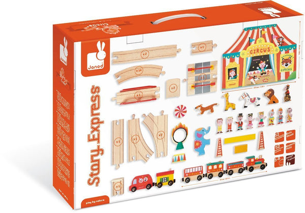 Story Express Train & Circus Set