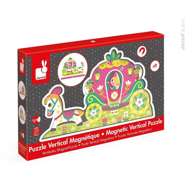 Vertical Magnetic Princess Puzzle