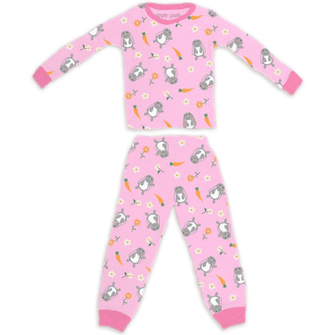 Organic Cotton Bunny Pajamas