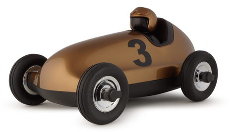 Bruno Roadster Car in Gold