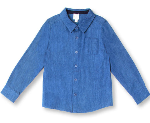 """Cerf"" Boys Chambray Shirt"